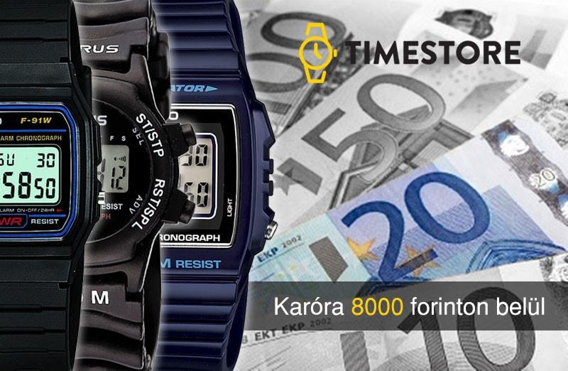TimeStore.hu - A legolcsóbb férfi karórát keresi  8000 forint elég lesz -  TimeStore.hu d957ec5b8f